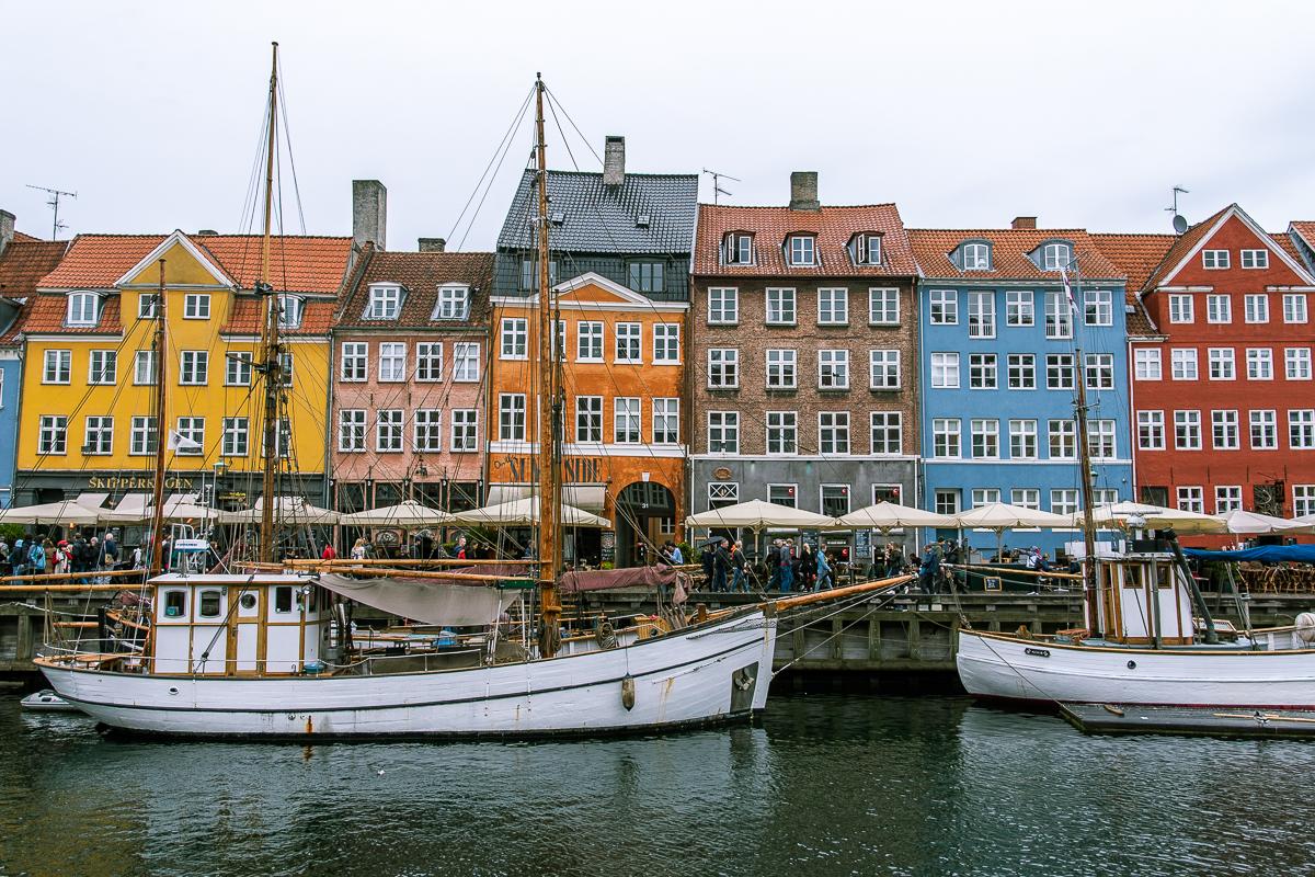 Nyhavn dzielnica portowa Kopenhaga