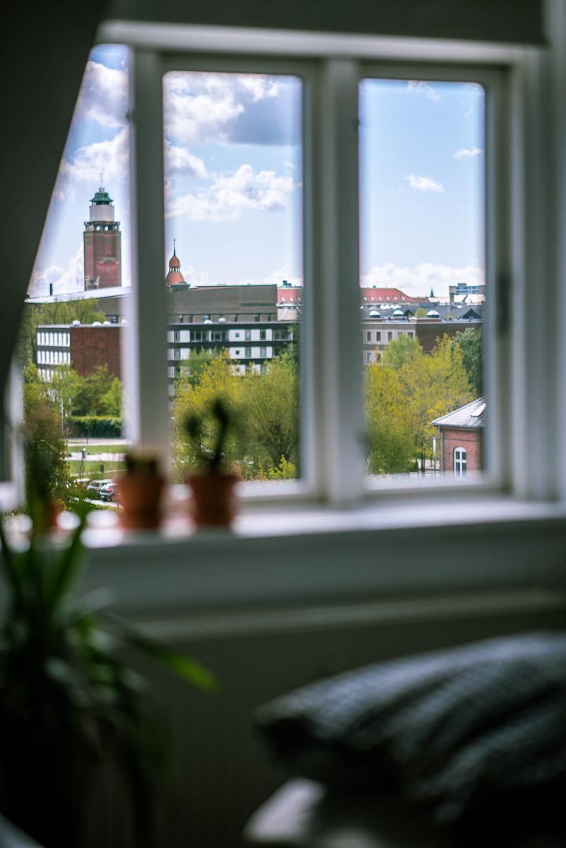 Zwiedzanie i mieszkanie Kopenhaga