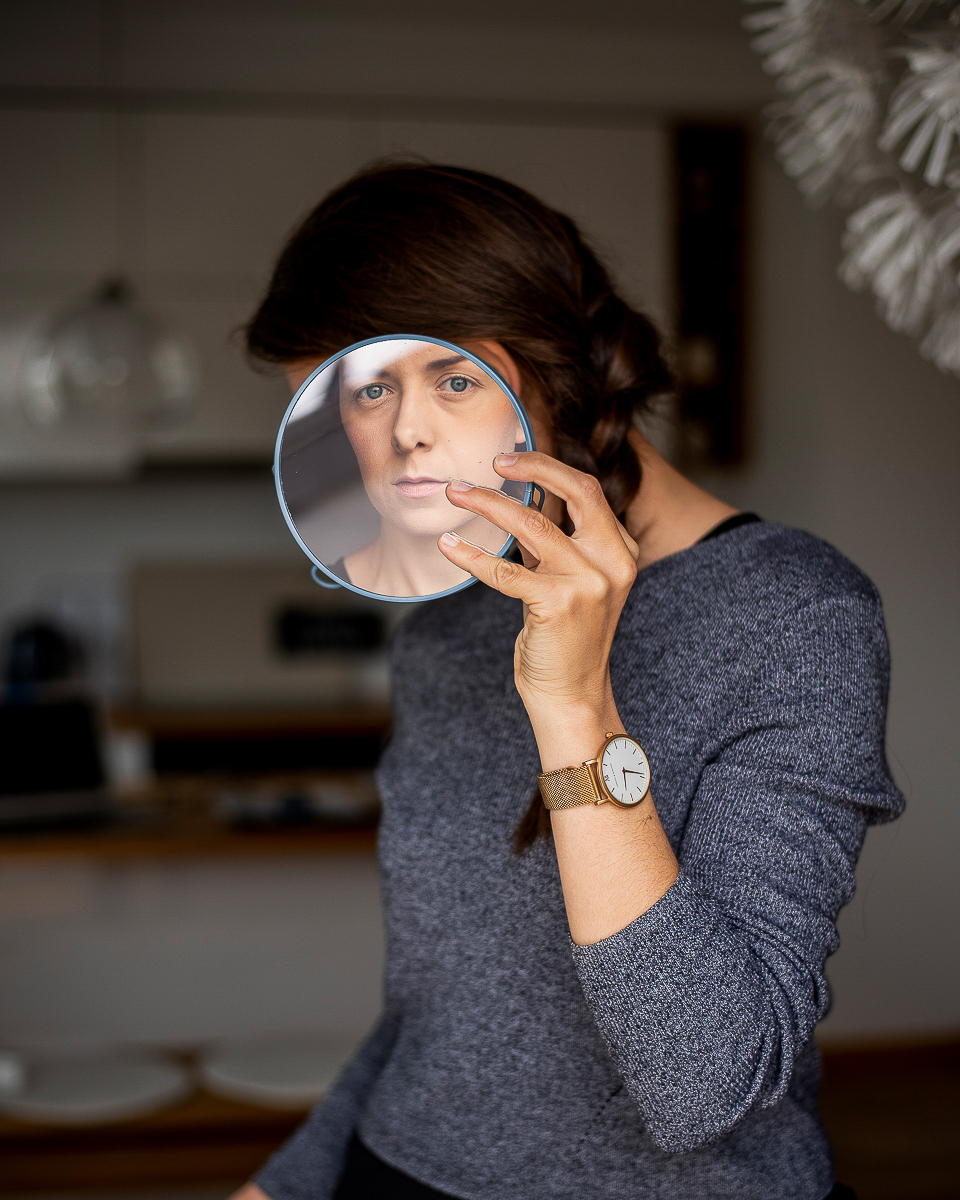 Autoportret z lustrem