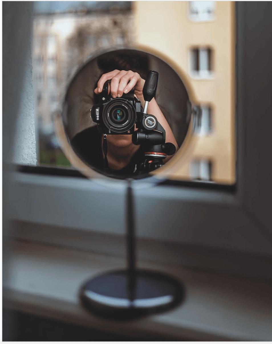 Autoportret pomysły na zdjęcia