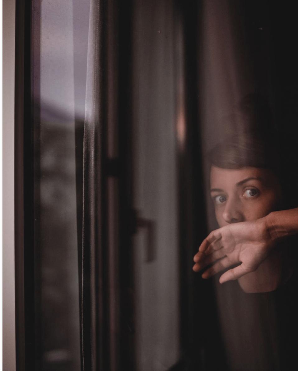 Kreatywne konta na Instagramie autoportret
